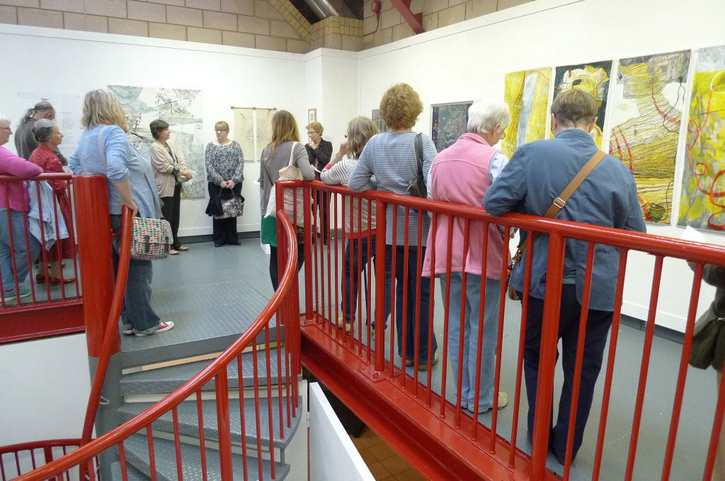 Afternoon at the Ebb and Flow Exhibition at the Grimsby Fishing Heritage Centre