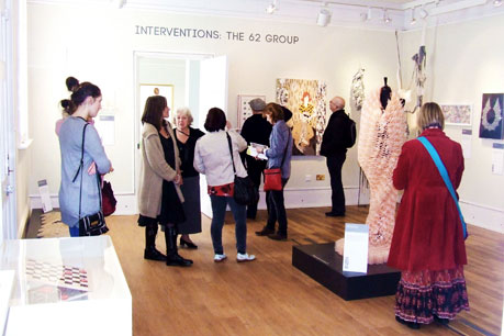 Interventions Exhibition tour at Platt Hall Gallery of Costume