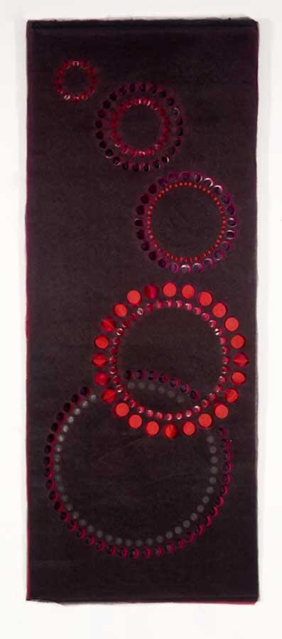 TEYUNA | Multi-layered, handcut textile hanging