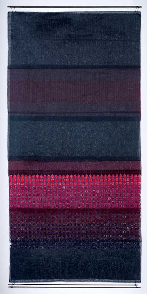 TARABUCO | Layered, handcut textile hanging