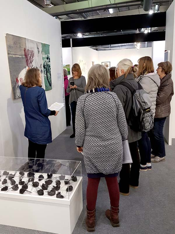 The Knitting And Stitching Show The Royal Highland Centre : Making Space 62 Group of Textile Artists