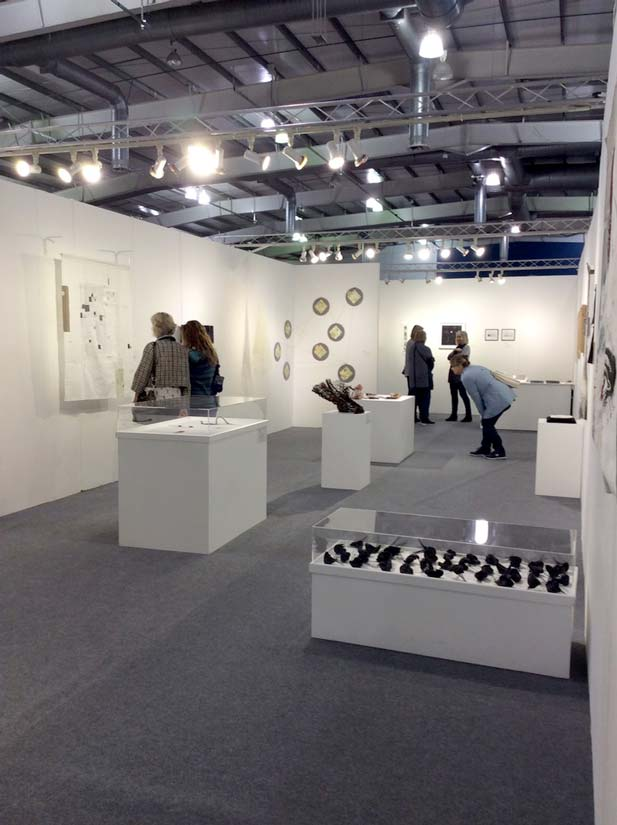 The Knitting And Stitching Show The Royal Highland Centre : Making Space Tour 62 Group of Textile Artists