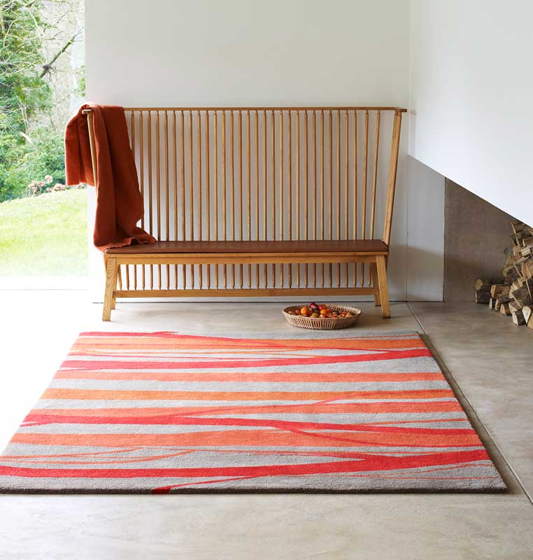 <strong>TUNKS KASBAH</strong>, 2012 | Hand tufted rug 200 x 300cm. Photographer: Carolyn Barber