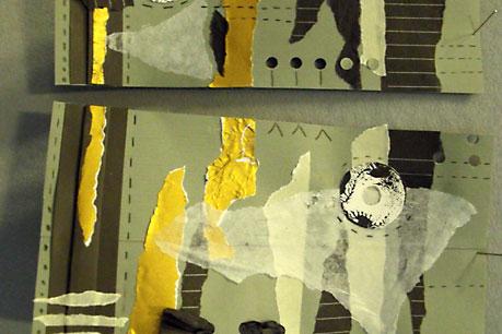 Simple Printing Methods for Fabrics workshop at Platt Hall Gallery of Costume