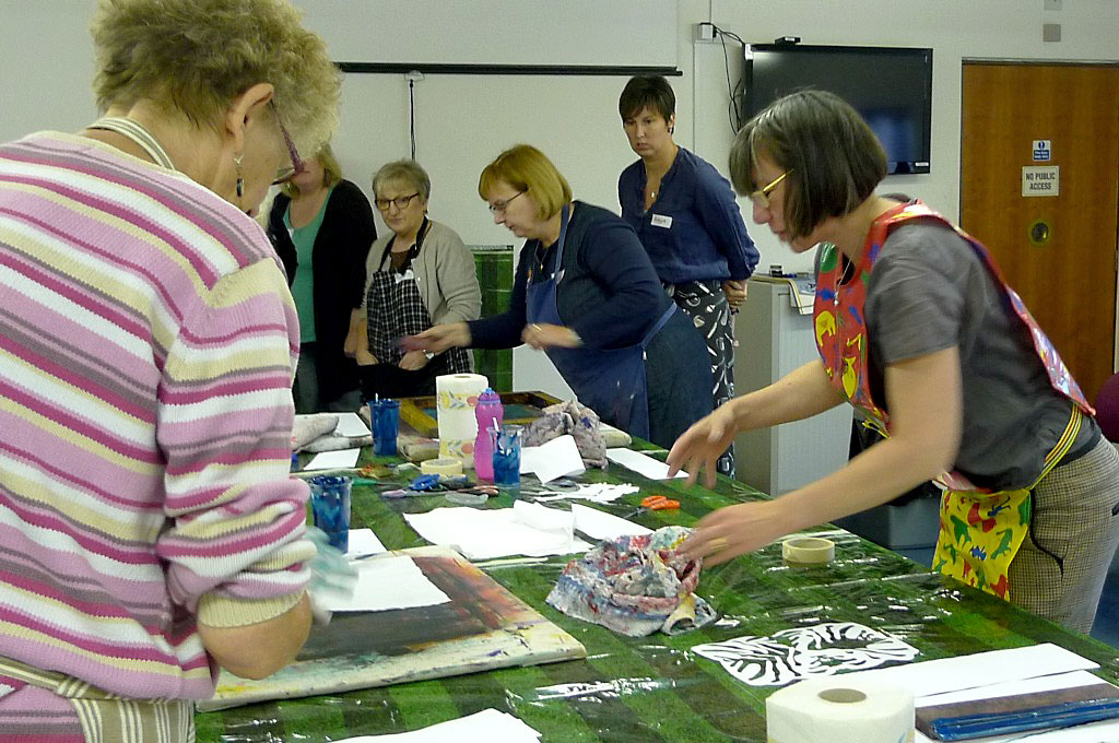 Super Stencil Screen Printing with Rachael Howard