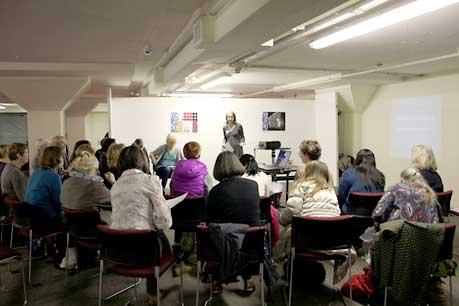 50 year Anniversary Symposium 2012 with Ann Goddard.