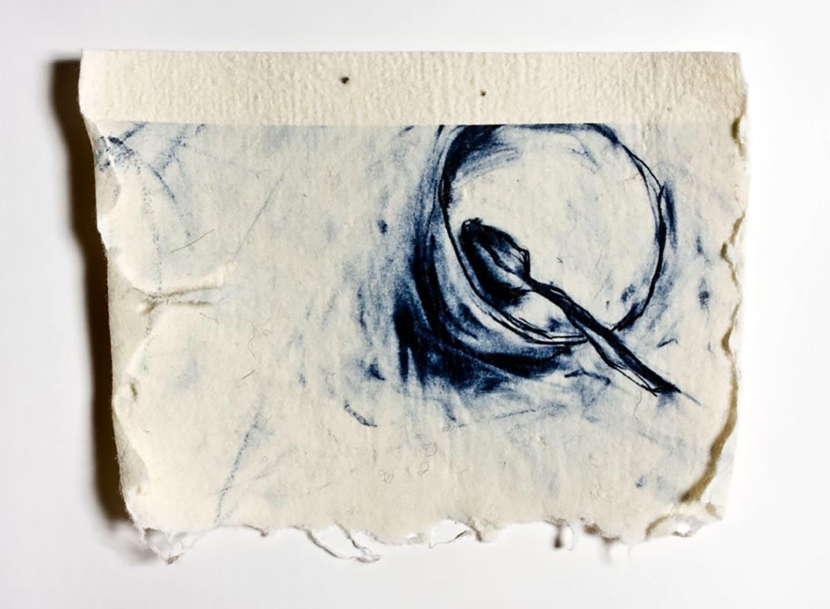 SUGAR AND SPICE | Print and hand made felt; 40cm x 30cm. Photo: David Ramkalawon.