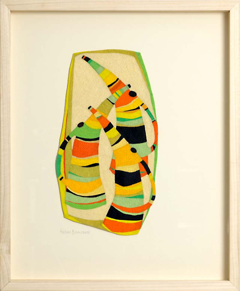 ONE OF THE PAIR | helen-banzhaf-1; 22cm wide x 32cm high. Photo: Michael Wickes.